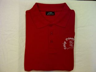 Fairlop Primary Polo Shirt Red